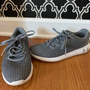 Gray Under Armour Shoes